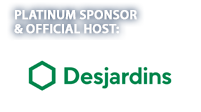 Platinum Sponsor and Official Host: Desjardins